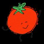 野菜・トマト・水彩風