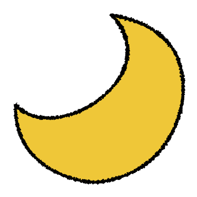 天気図/月