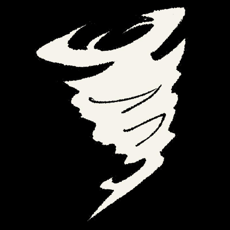 天気図/竜巻