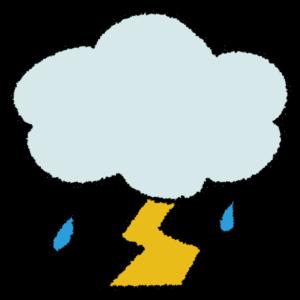天気図/雷雨