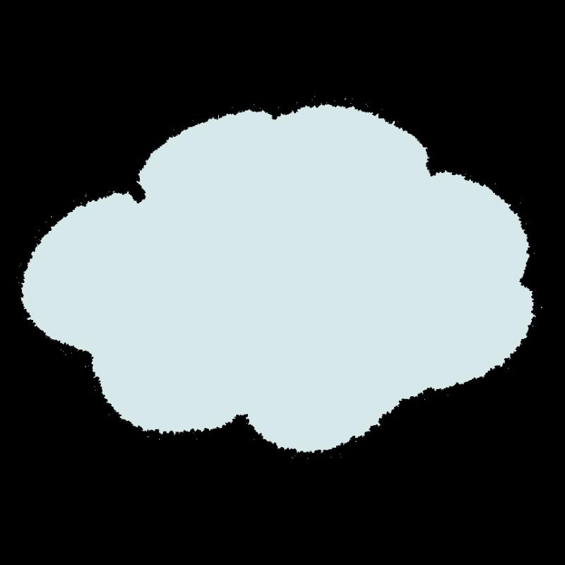 天気図/雲り