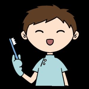 歯科衛生士の男性