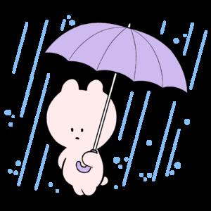 雨降りのめまいちゃん