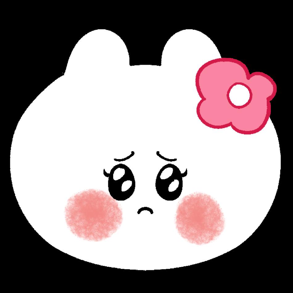 泣きそうなカビンちゃん/3カット