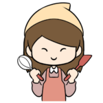 お菓子作りにヤル気の女の子